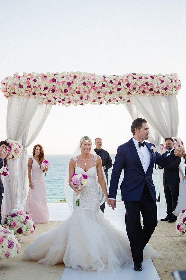 Breathtaking Bride from Barbie Blank's Wedding Album | E! Online