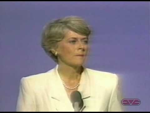 """Geraldine Ferraro made history when she gave this speech accepting the Democratic party's nomination as the vice presidential candidate--a first for U.S. women--in 1984. From The Eloquent Woman blog's """"Famous Speech Friday"""" series."""