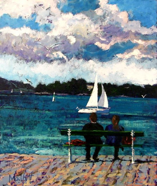 Timmy Mallett - Interests - Painting - watching sails!