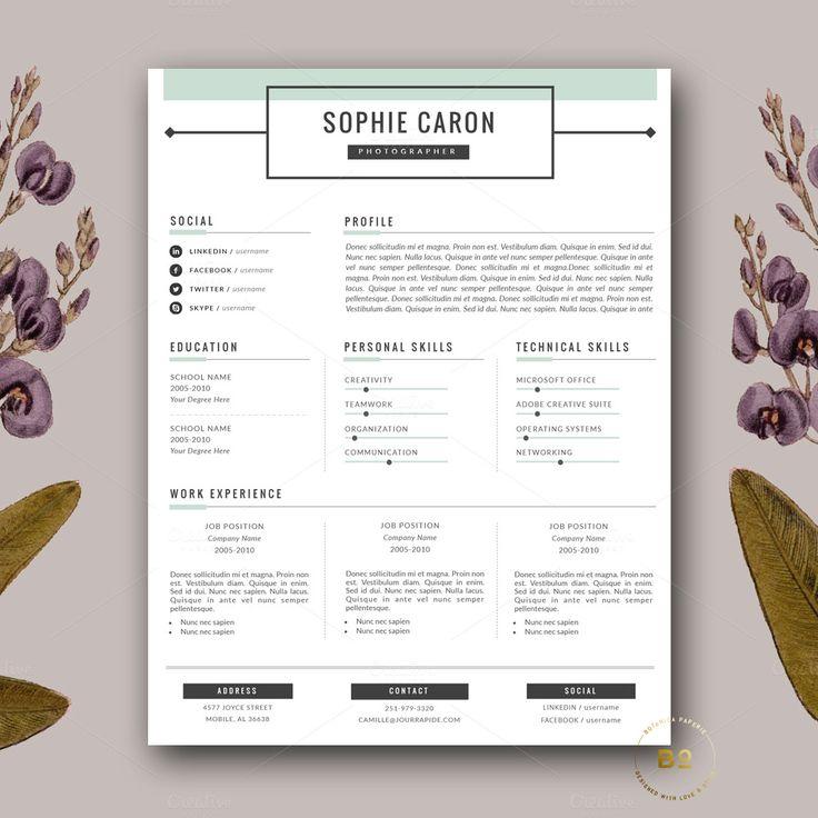 25+ melhores ideias de Retomar molde carta no Pinterest Retomar - resume and cover letter template