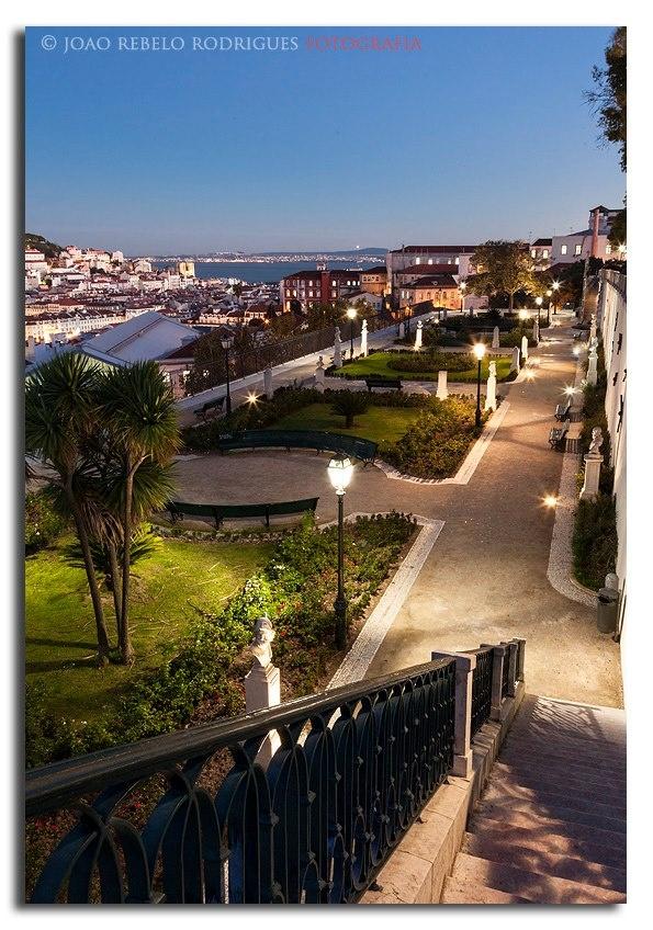 St Pedro de Alcântara belvedere, Lisbon - Portugal