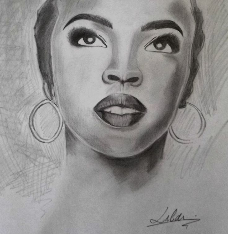 #LAURIN HILL #DRAWING #PENCIL