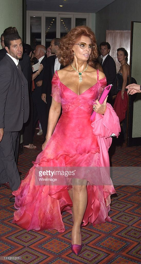 Sophia Loren during 2002 Venice Film Festival - Opening Night - 'Frida' Premiere at Palazzo Del Cinema in Venice Lido, Italy.