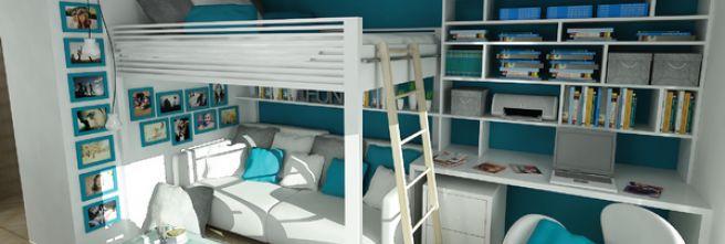 Inšpirácie pre malé priestory