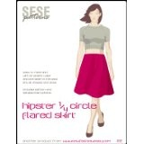 Sew Fast Sew Easy's Hipster 1/4 Circle Flared Skirt Sewing PatternBy Sew Fast Sew Easy