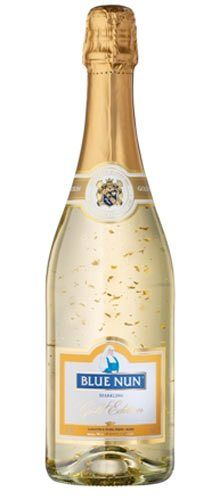 Gold Blue Nun 22K wine