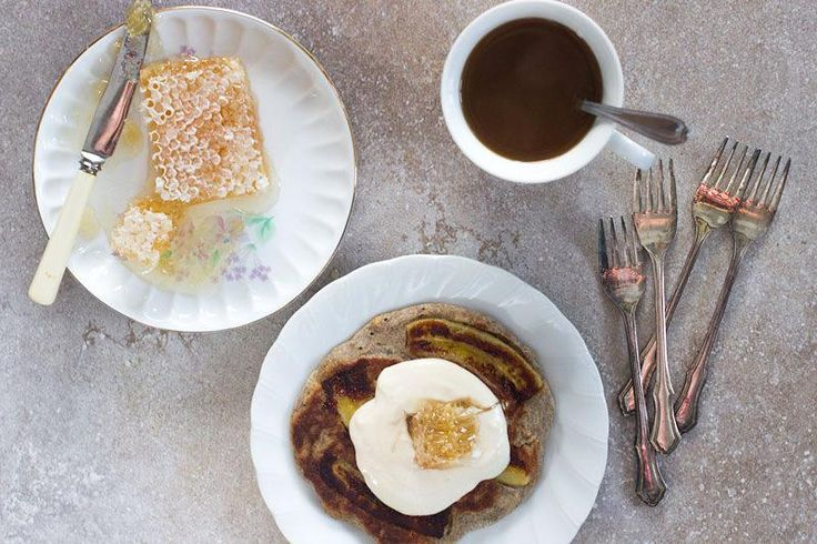 peanut butter & banana pancake | Closet'Foodie' | Pinterest