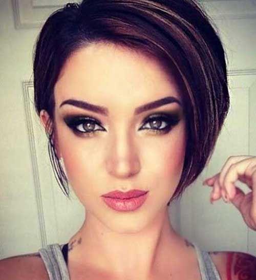 Korte Kapsels Donker Haar - Korte Kapsels