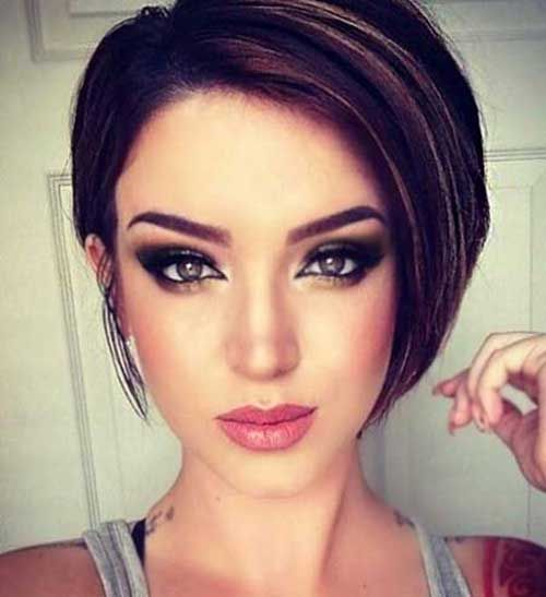 Magnificent Dark Hair Short Hairstyles And Dark On Pinterest Short Hairstyles For Black Women Fulllsitofus