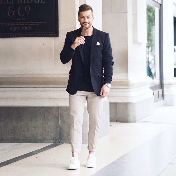 If you're prepared to wear black this summer, scroll below to check out 5 summer looks for guys who only wears black. #MensFashion