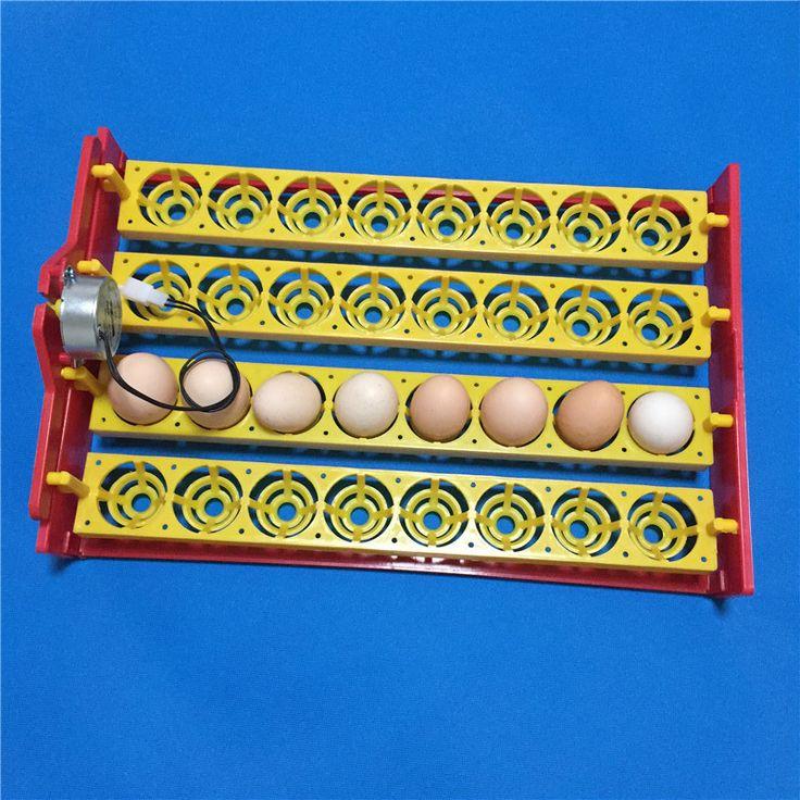 32 яйца поворота лоток Автоматической Цыпленок Утиные Яйца инкубатор лоток для яиц лоток 28.4x43 cm 110 В/220 В 4*8 отверстия