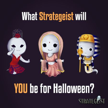 This #Halloween, Galactic Starfish's Strategeists are haunting the streets like they're #Haunting History! #MondayFunday #Indiegame #Indiedev #Gamedev