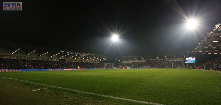 Štadión MŠK Žilina pred zápasom Slovensko - Luxembursko