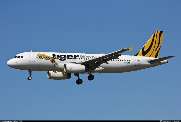 VH-VNG Tiger Airways Australia Airbus A320-232
