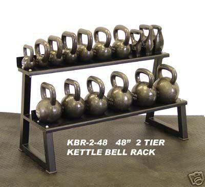 Ader 2 Tier 48 Kettlebell Rack