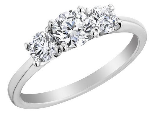 39 best images about Tri Stone Rings on Pinterest