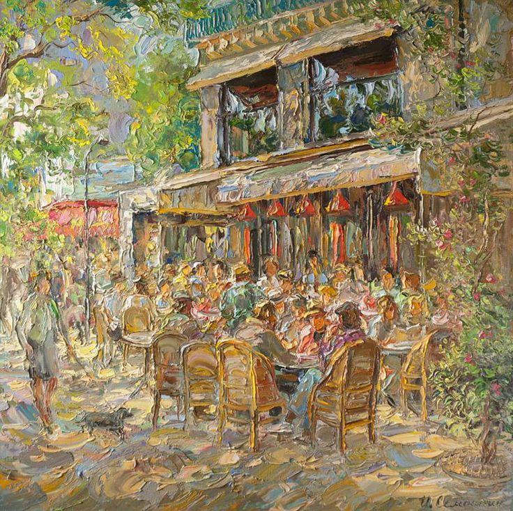 Семенихин Игорь. Парижское кафе