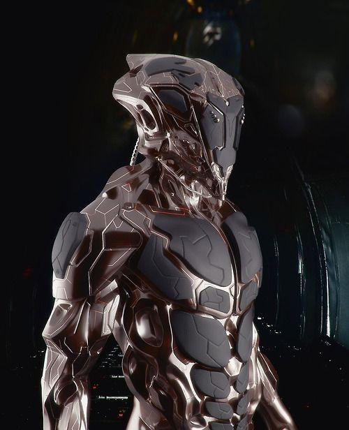 cyberpunk, cyborg, future, armor, futuristic, military ...