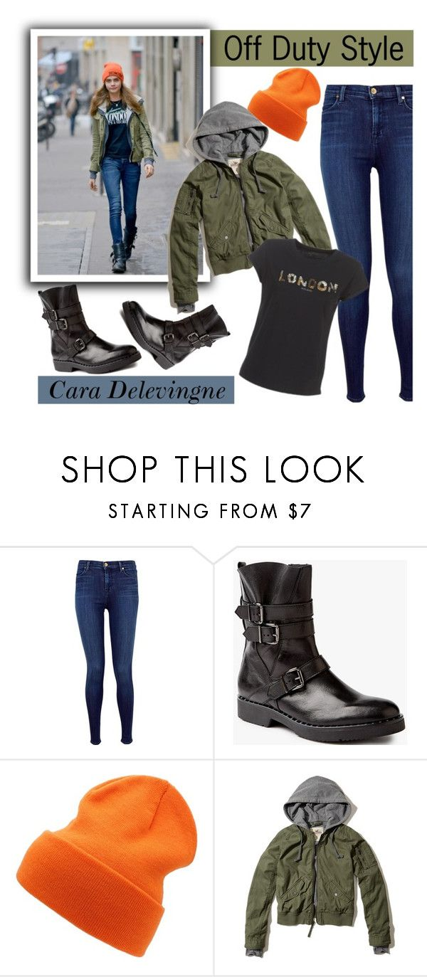 """t-Girl: Model Off Duty"" by the-geek-goddess ❤ liked on Polyvore featuring J Brand, Somerset by Alice Temperley, 7 For All Mankind, Hollister Co. and Pepe Jeans London"