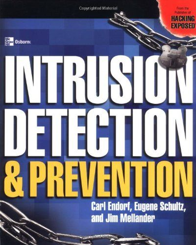 Intrusion Detection and Prevention:   Authors Carl Endorf, Eugene Schultz, and Jim Mellander deliver the hands-on implementation techniques that IT professionals need. Learn to implement the top intrusion detection products into real-world networked environments and covers the most popular intrusion detection tools including Internet Security Systems' Black ICE & RealSecure, Cisco Systems' Secure IDS, Computer Associates' eTrust, Entercept, and the open source Snort tool.