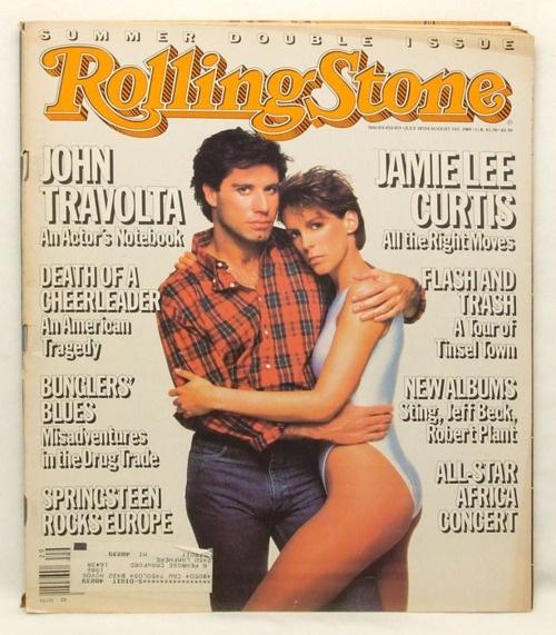 John Travolta + Jamie Lee Curtis in 'Perfect'