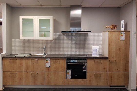 PLANA-Küche Pro in Eiche Cornwall - 57 % Rabatt sichern