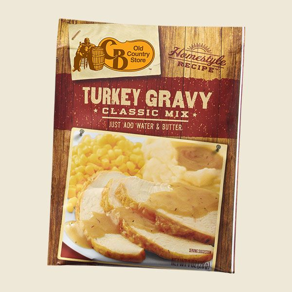 Here's our foolproof turkey gravy recipe that'll have you spending less time cooking and more time enjoying your friends, family, and, of course, your turkey and gravy dinner! Simply add water and butter to the mix to put the final touch on a special dinner, or to add something special to any dinner.