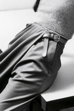 Grey Pants fashion, detail, catwalk, fold, pleats, inspiration, fabric manipulation