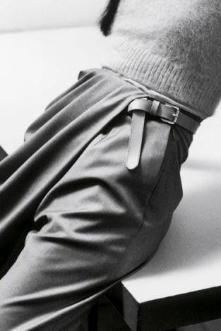 Grey Pants fashion, detail, catwalk, fold, pleats, inspiration, fabric manipulation