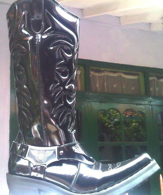 Sepatu Boots Lantas Type C-011BK  DANY :081802060232 / PIN-BB 2316726C   www.ciarmy-boots.com