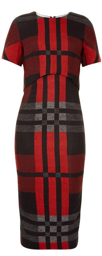 SportsMax Fall 2015 Tartan Dress