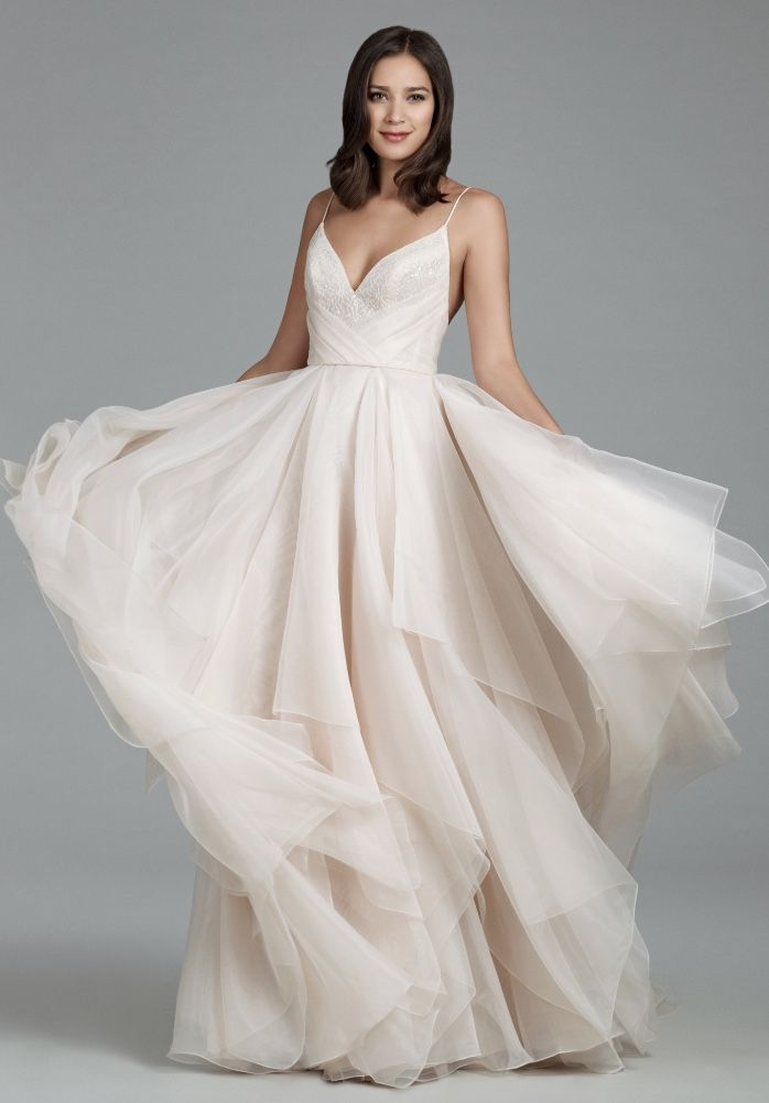 Courtesy of Tara Keely Wedding Dresses from JLM Couture; Wedding dress idea.
