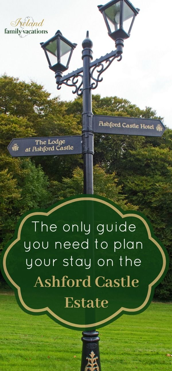 With two luxurious lodging choices- Ashford Castle and The Lodge at Ashford Castle- it's one of the best Ireland hotel destinations in the country. The only guide you'll need to plan your stay on the Ashford Castle Estate in Cong, County Mayo. Includes tips for booking your stay, dining, and activities. #Ireland #castle #hotel