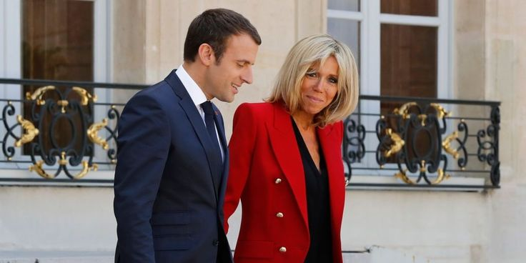 France's First Lady Brigitte Macron on Age, Falling in Love and Melania Trump