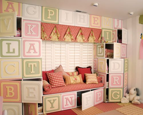 Blocks Wall by Kidtropolis in interior design  Category