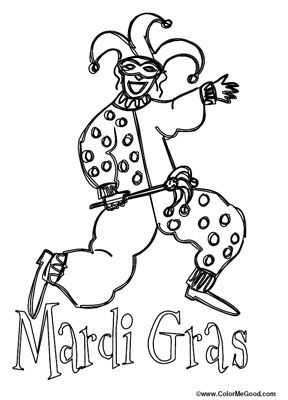 8 places to find free mardi gras coloring pages free mardi gras coloring pages at printable