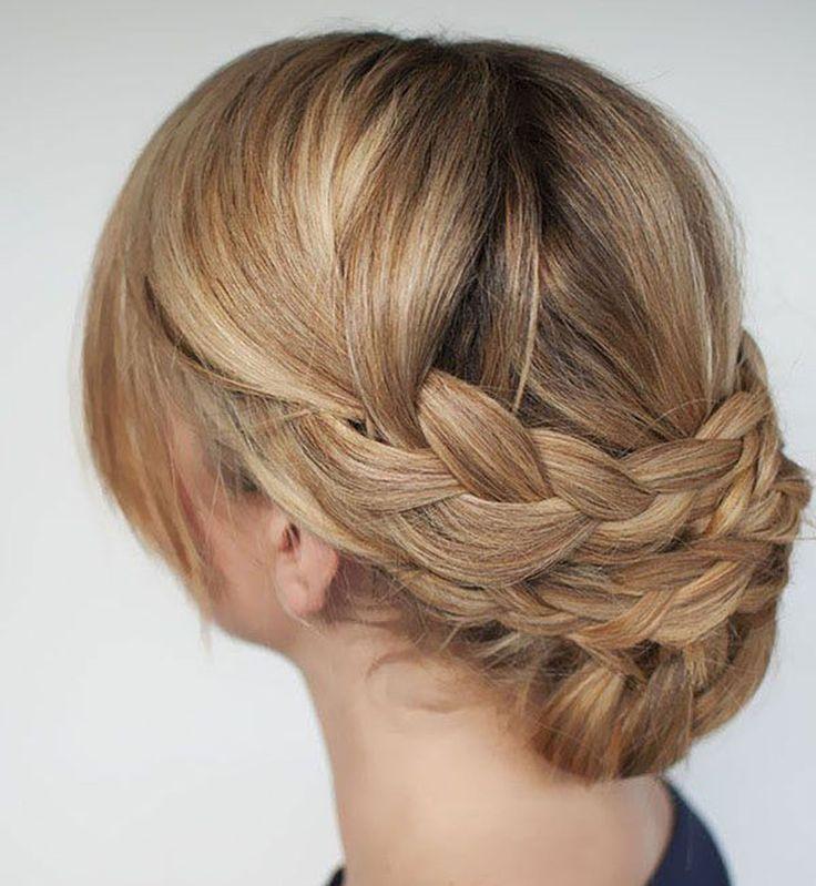 Best Coiffures Et Beauté Images On Pinterest Hairstyles - Diy chignon boheme