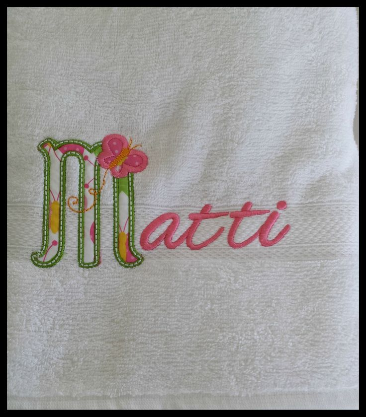 Embroidery/Applique