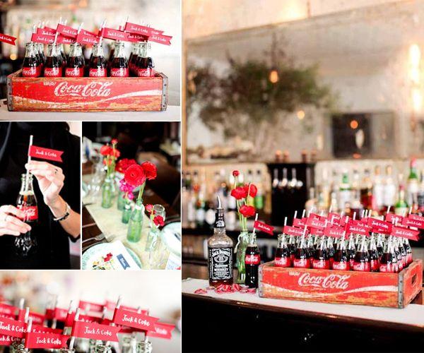 festa tema coca   ... mês para comemorar a data que tal uma festa com o tema de coca cola