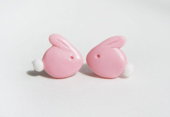 Hey, I found this really awesome Etsy listing at https://www.etsy.com/listing/95354634/polymer-clay-pink-chocolate-bunny-rabbit