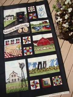 Amish Country panel by Deb Strain