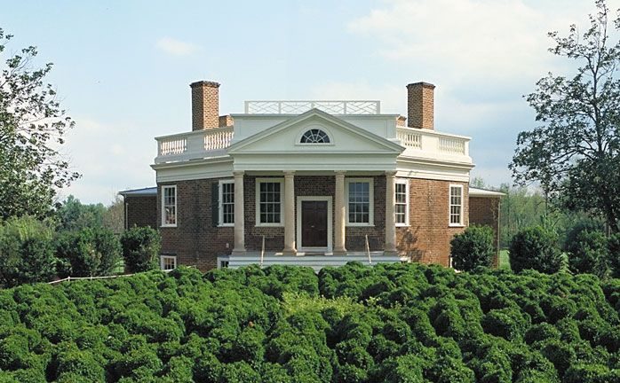 Thomas Jefferson was an impressive learner--interested in so many things. Poplar Forest was his personal retreat. He designed this uniquely octagonal building.