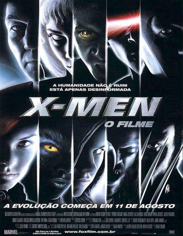 Download - X-Men: O Filme (2000) Dublado  Filme americano de ficção científica, ação, aventura e fantasia lançado em 2000, baseado no grupo homónimo da Marvel C...