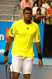 Jo-Wilifried Tsonga (born April 17, 1985, Le Mans, France) He was born to a Congolese father, Didier Tsonga, who moved to  France in the 1970s to play handball. His career-high singles ranking is World No. 5, which he achieved in February 2012. Tsonga rose to fame by virtue of his performance at the 2008 Australian Open , when as an unseeded player, he reached the final, having defeated four seeded players along the way.  (Photo: Tsonga Australian Open 2009)