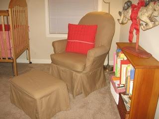Glider Slipcover chair