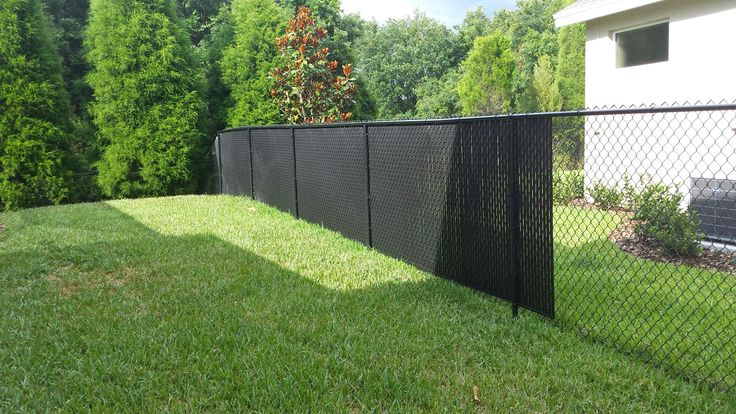 Privacy Fence Slats: Great solution for your chain-link fence – tw ...