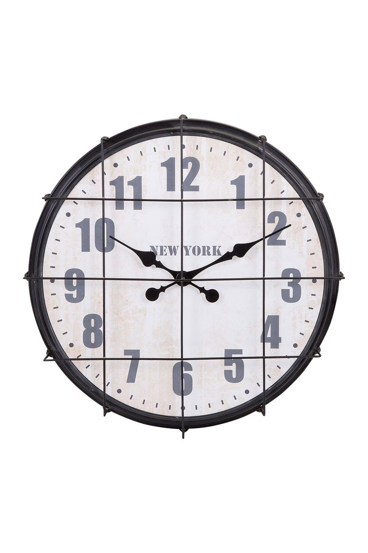 Ella Elaine New York Cage Clock by Imax on @HauteLook