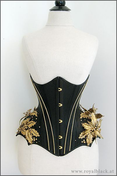 Royal Black Couture & Corsetry