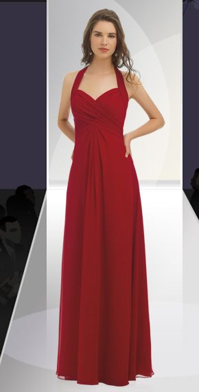 bill levkoff style 8032 plum bridesmaid dress.
