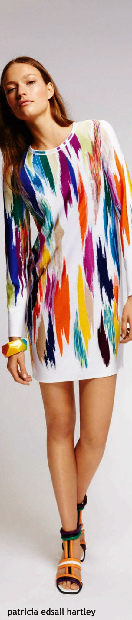 Missoni Resort 2016 ❖ c o l o r  c o l l a g e  {Pops of color, color pops, rainbow pop}